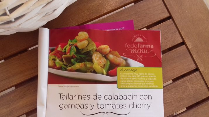TALLARINES DE CALABACÍN