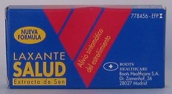 RETIRADA DE LOTES MEDICAMENTO LAXANTE SALUD